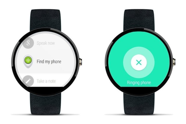 Find my phone with Android Wear