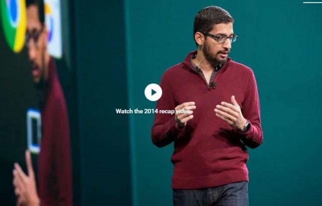 Google IO 2015 stream