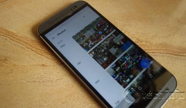 Google photos experience