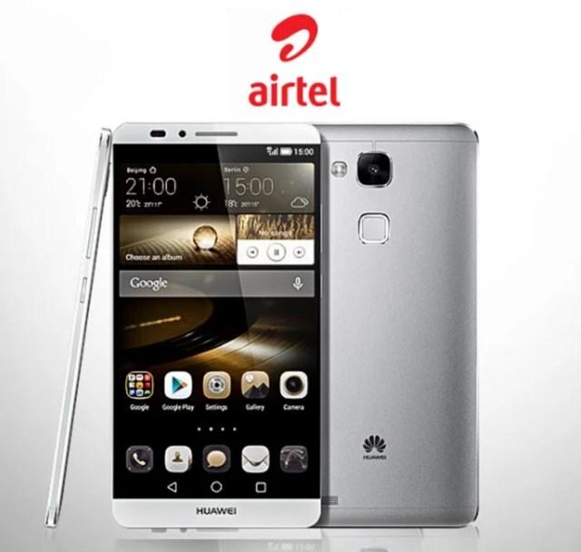 Huawei Mate 7 on Airtel