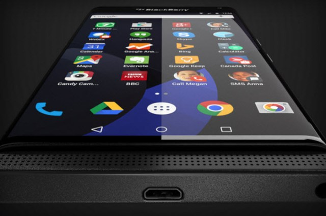 Android Blackberry Veince