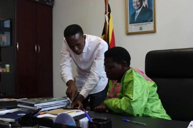 Felix kitaka and Minister