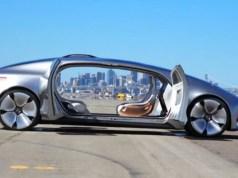 Mercedes-Benz F 015 self driving car
