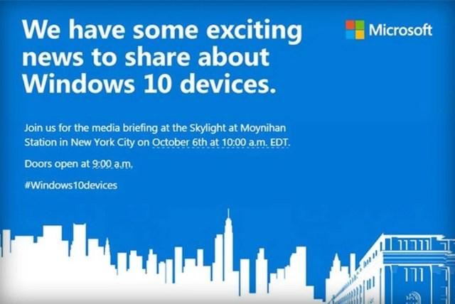 Microsoft 2015 hardware event