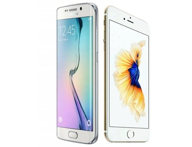 iPhone 6s Vs Galaxy s6 edge plus