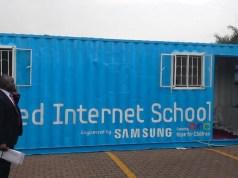 Solar powered school in Uganda