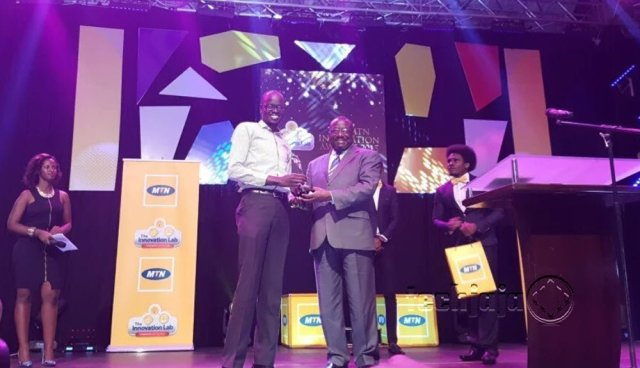 MTN Innovation awards 2015 King Solomon
