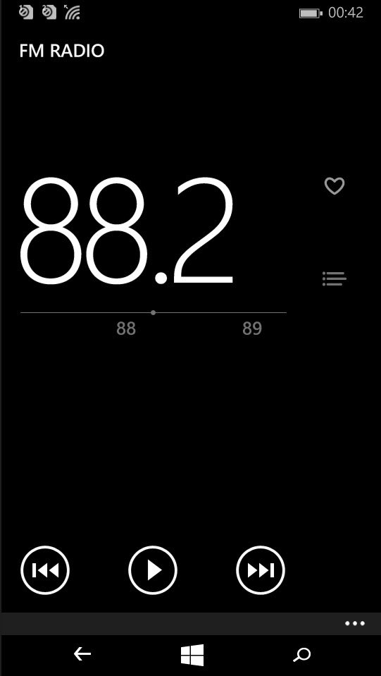 Lumia 535_ WP8.1_FM Radio
