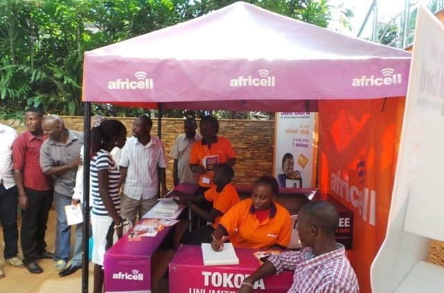 SIM registration at Africell