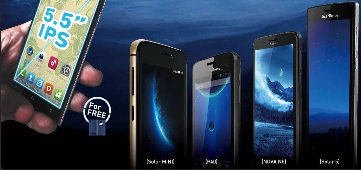 StarTimes Uganda Smart Phones: Here are the detailed Specs
