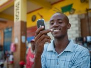mobile money in Uganda 2015