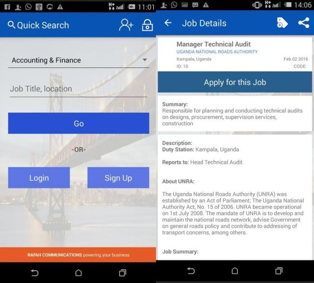 ASPIRE Android Job App