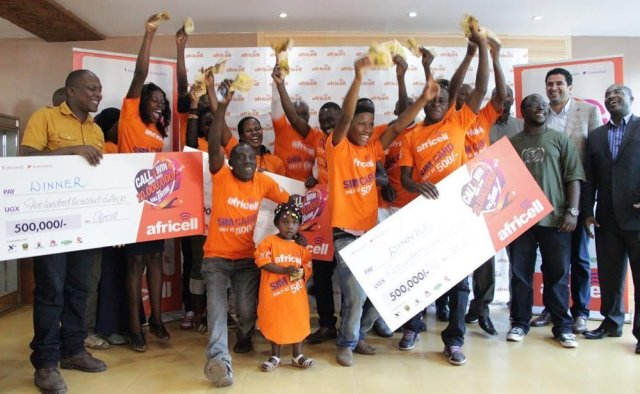 Africell reward Valentine Day