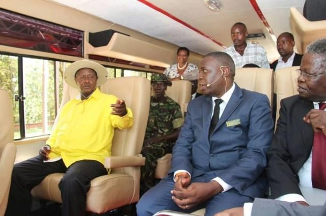 Kayoola bus president launch 2