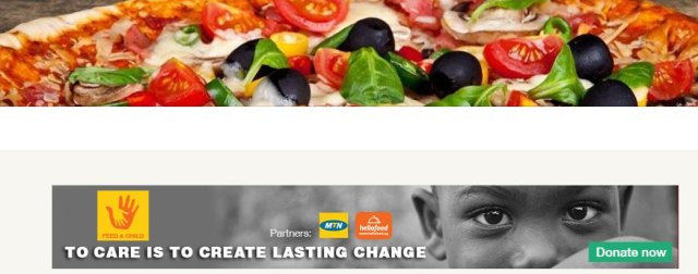 feed a child MTN and Hellofood