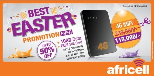 Easter offers Africell 2016
