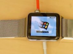 Windows 95 on Apple Watch