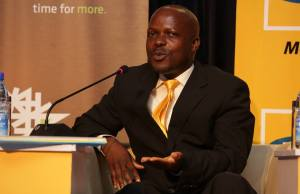 Phrase Lubega Head of MFS MTN
