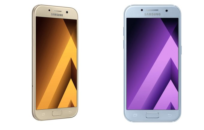 Galaxy A3 and A5