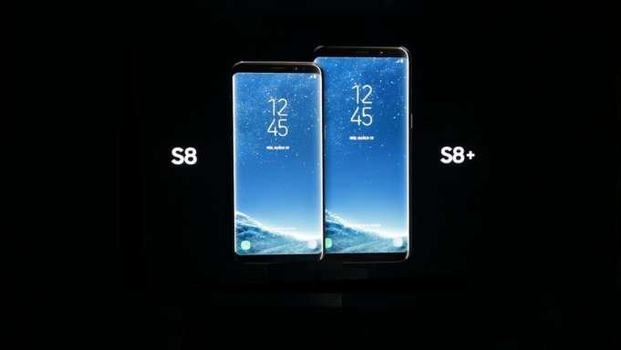 The Galaxy s8 comparison