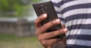 LG Using Mobile