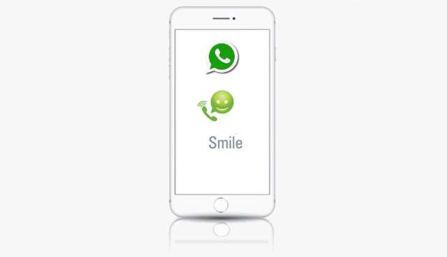Smile register with whatsapp