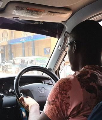 Uber rider Kampala