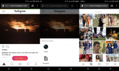 You can now upload photos to your Instagram using a mobile web