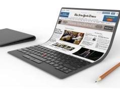 Bendable Laptop lenovo