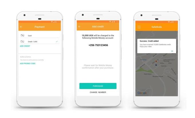 Safeboda Mobile Money