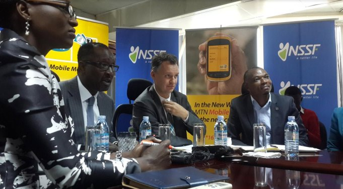 NSSF and MTN Mobile Mobey