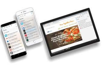 Edge Browser on mobile