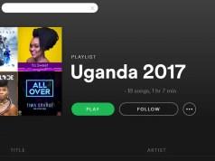 Ugandan music on Spotify