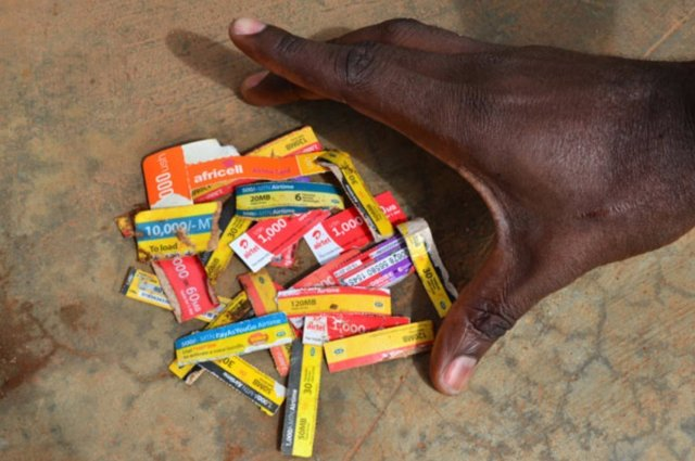 UCC ban Airtime scratch cards