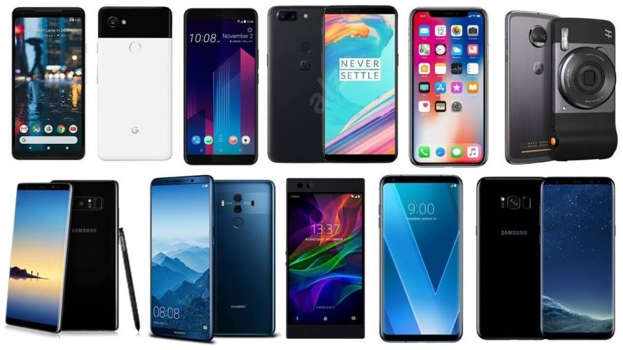 These are the Top 5 Africa Smartphone vendors in 2018 These are the Top 5 Smartphone vendors in Africa