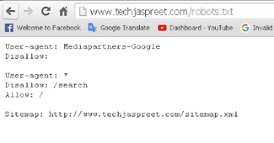 Submit URL To Google