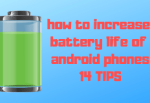 how to increase battery life of android phones