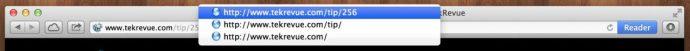 Safari Title Bar Navigation