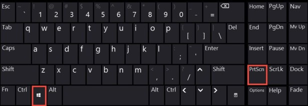 Windows 8 Screenshot Shortcut