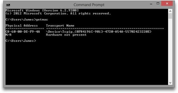 Så här hittar du din MAC-adress i Windows och OS X
