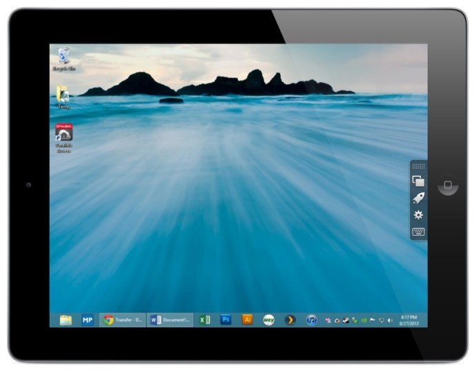 Parallels Access Review Desktop Mode
