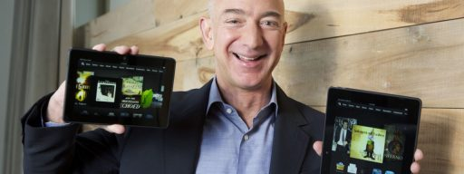 Jeff Bezos Kindle Fire HDX
