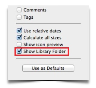 How to Restore the User Library Folder in OS X Mavericks