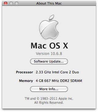 2006 iMac Upgrade Core 2 Duo SSD