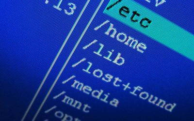 Unix System Files Root Directory