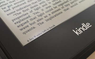 Kindle Paperwhite Time Left in Book