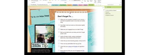 OneNote for Mac OS X