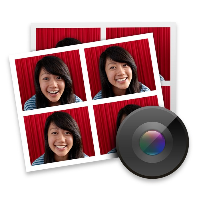 OS X Yosemite Photo Booth New Icon