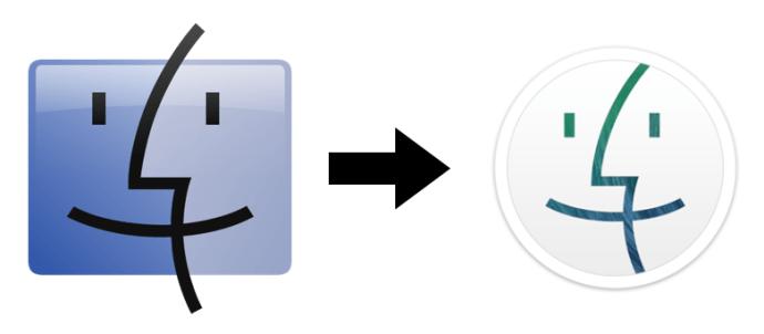 Ändra Finder-ikon OS X