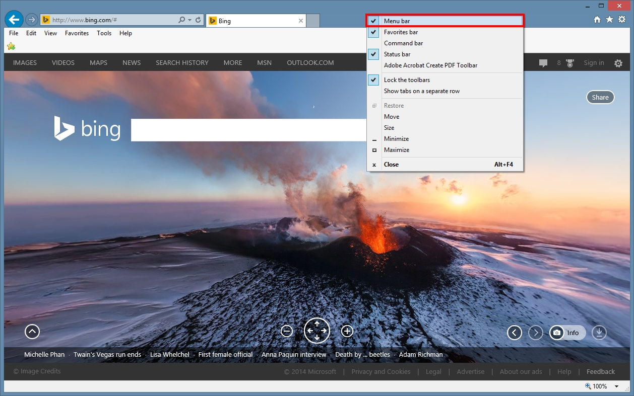 How to Import Bookmarks from Another Browser to Internet Explorer 11